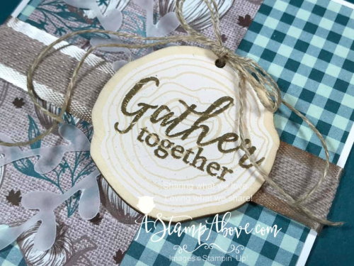 I have a BRAND NEW KIT CLASS using Gather Together - VIDEO TUTORIAL - Click for details - ❤️SHOP❤️ - ORDER STAMPIN' UP! PRODUCTS ON-LINE. Purchase the $99 Starter Kit & enjoy a 20% discount! Tons of paper crafting ideas & FREE Online Classes. www.AStampAbove.com