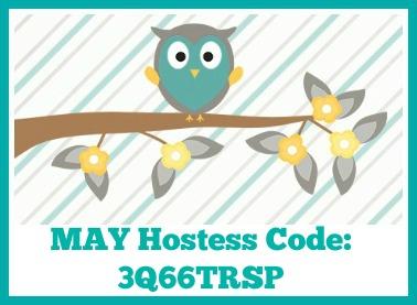 May 2019 Hostess Code