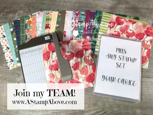 Get this for FREE! Check out the VIDEO TUTORIAL - Click for details - ️SHOP ️ - ORDER STAMPIN' UP! PRODUCTS ON-LINE. Purchase the $99 Starter Kit & enjoy a 20% discount! Tons of paper crafting ideas & FREE Online Classes. www.AStampAbove.com