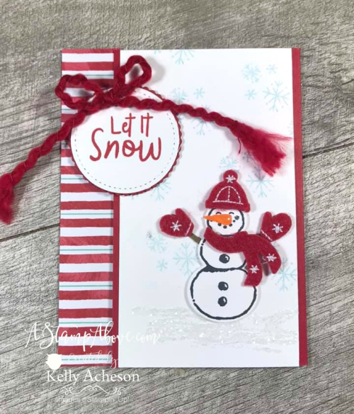 Let It Snow Suite - Facebook Live Replay  VIDEO TUTORIAL - Click for details - ❤️SHOP❤️ - ORDER STAMPIN' UP! PRODUCTS ON-LINE. Purchase the $99 Starter Kit & enjoy a 20% discount! Tons of paper crafting ideas & FREE Online Classes. www.AStampAbove.com70796423_10220390611297835_2924436338423889920_n