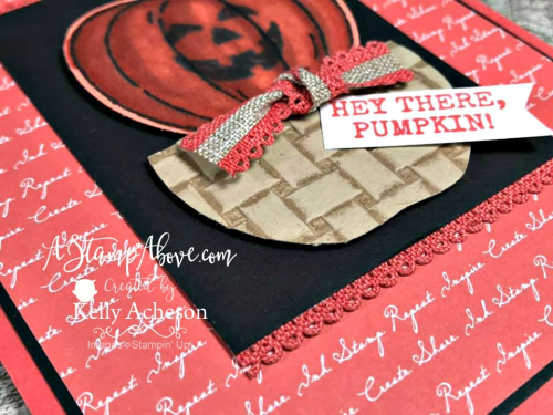 Learn how to make this fabulous card with the HARVET HELLOS BUNDLE from Stampin' Up! - VIDEO TUTORIAL - Click for details - ️SHOP ️ - ORDER STAMPIN' UP! PRODUCTS ON-LINE. Purchase the $99 Starter Kit & enjoy a 20% discount! Tons of paper crafting ideas & FREE Online Classes. www.AStampAbove.com