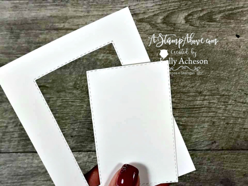 Rectangle Stitched Framelits Tip Video Tutorial - NEW from Stampin' Up! Click for details - ❤️SHOP❤️ - ORDER STAMPIN' UP! PRODUCTS ON-LINE. Purchase the $99 Starter Kit & enjoy a 20% discount! Tons of paper crafting ideas & FREE Online Classes. www.AStampAbove.com