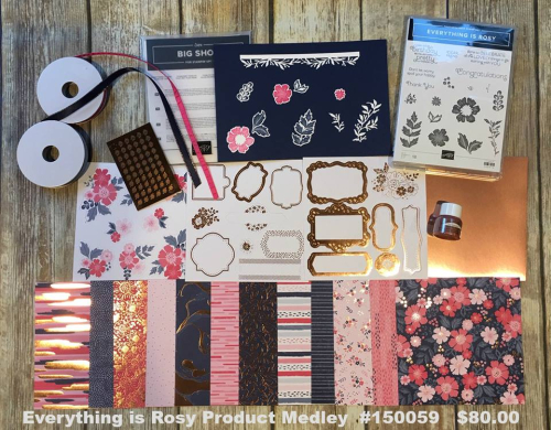 Everything is Rosy IS BACK!!! VIDEO TUTORIAL - Click for details - ️SHOP ️ - ORDER STAMPIN' UP! PRODUCTS ON-LINE. Purchase the $99 Starter Kit & enjoy a 20% discount! Tons of paper crafting ideas & FREE Online Classes. www.AStampAbove.com