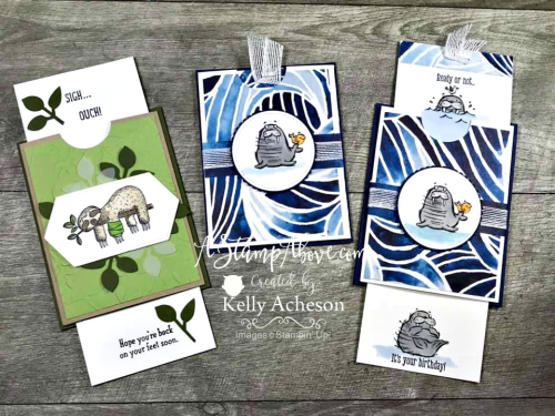 Slider Card VIDEO TUTORIAL - Click for details - ❤️SHOP❤️ - ORDER STAMPIN' UP! PRODUCTS ON-LINE. Purchase the $99 Starter Kit & enjoy a 20% discount! Tons of paper crafting ideas & FREE Online Classes. www.AStampAbove.com
