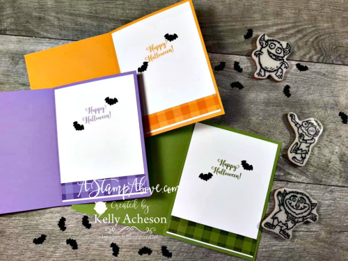 Classic Layout VIDEO TUTORIAL with Boo To You by Stampin' Up! - Click for details - ️SHOP ️ - ORDER STAMPIN' UP! PRODUCTS ON-LINE. Purchase the $99 Starter Kit & enjoy a 20% discount! Tons of paper crafting ideas & FREE Online Classes. www.AStampAbove.com