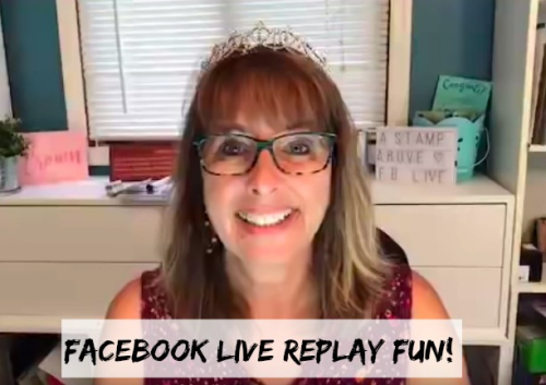 FACEBOOK LIVE VIDEO TUTORIAL - Click for details - ❤️SHOP❤️ - ORDER STAMPIN' UP! PRODUCTS ON-LINE. Purchase the $99 Starter Kit & enjoy a 20% discount! Tons of paper crafting ideas & FREE Online Classes. www.AStampAbove.com