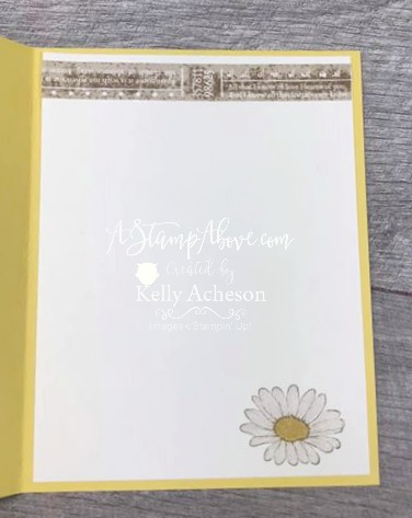DAISY LANE - FACEBOOK LIVE VIDEO TUTORIAL - Click for details - ❤️SHOP❤️ - ORDER STAMPIN' UP! PRODUCTS ON-LINE. Purchase the $99 Starter Kit & enjoy a 20% discount! Tons of paper crafting ideas & FREE Online Classes. www.AStampAbove.com