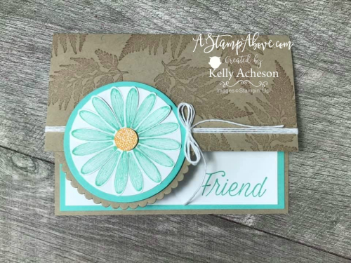 CARD CHALLENGE - DAISY LANE - FACEBOOK LIVE VIDEO TUTORIAL - Click for details - ❤️SHOP❤️ - ORDER STAMPIN' UP! PRODUCTS ON-LINE. Purchase the $99 Starter Kit & enjoy a 20% discount! Tons of paper crafting ideas & FREE Online Classes. www.AStampAbove.com