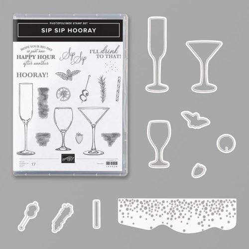 Newest Kit Class - Sip Sip Hooray VIDEO TUTORIAL - Click for details - ️SHOP ️ - ORDER STAMPIN' UP! PRODUCTS ON-LINE. Purchase the $99 Starter Kit & enjoy a 20% discount! Tons of paper crafting ideas & FREE Online Classes. www.AStampAbove.com