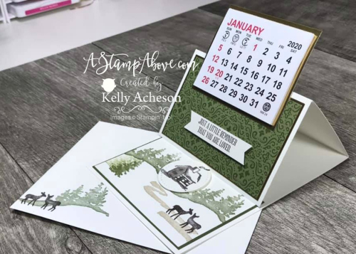 Easel Calendar for HIM VIDEO TUTORIAL - Click for details - ️SHOP ️ - ORDER STAMPIN' UP! PRODUCTS ON-LINE. Purchase the $99 Starter Kit & enjoy a 20% discount! Tons of paper crafting ideas & FREE Online Classes. www.AStampAbove.com