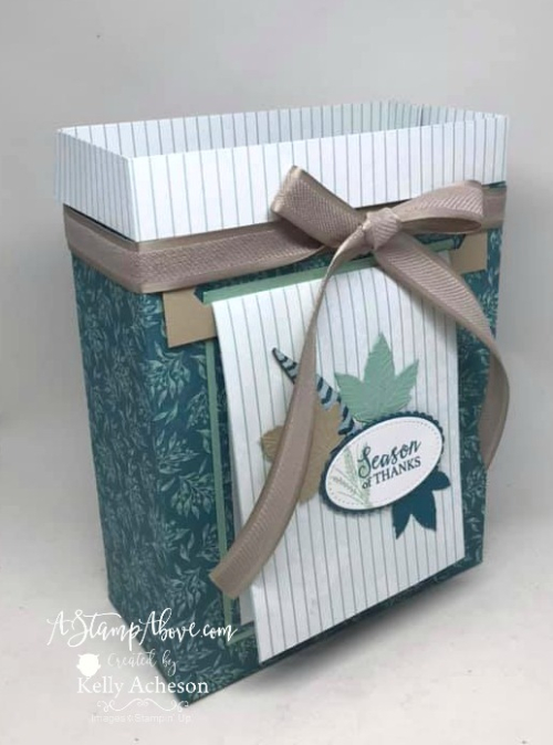 Card with matching bag Facebook Live Replay  VIDEO TUTORIAL - Click for details - ❤️SHOP❤️ - ORDER STAMPIN' UP! PRODUCTS ON-LINE. Purchase the $99 Starter Kit & enjoy a 20% discount! Tons of paper crafting ideas & FREE Online Classes. www.AStampAbove.com71271731_10220390612377862_1738901721209372672_n