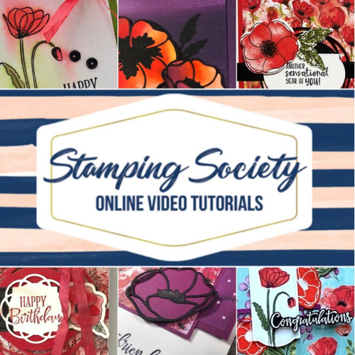 Get a FREE Tutorial with the Peaceful Poppies Suite - VIDEO TUTORIAL - Click for details - ️SHOP ️ - ORDER STAMPIN' UP! PRODUCTS ON-LINE. Purchase the $99 Starter Kit & enjoy a 20% discount! Tons of paper crafting ideas & FREE Online Classes. www.AStampAbove.com