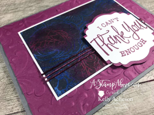 Joseph's Coat Technique VIDEO TUTORIAL - Click for details - ️SHOP ️ - ORDER STAMPIN' UP! PRODUCTS ON-LINE. Purchase the $99 Starter Kit & enjoy a 20% discount! Tons of paper crafting ideas & FREE Online Classes. www.AStampAbove.com