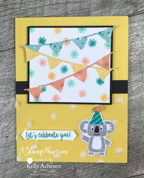 Birthday Bonanza - NEW FROM STAMPIN' UP! - VIDEO TUTORIAL - Click for details - ️SHOP ️ - ORDER STAMPIN' UP! PRODUCTS ON-LINE. Purchase the $99 Starter Kit & enjoy a 20% discount! Tons of paper crafting ideas & FREE Online Classes. www.AStampAbove.com