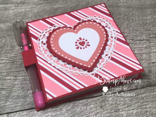 Post It Note Holder - VIDEO TUTORIAL - Click for details - ️SHOP ️ - ORDER STAMPIN' UP! PRODUCTS ON-LINE. Purchase the $99 Starter Kit & enjoy a 20% discount! Tons of paper crafting ideas & FREE Online Classes. www.AStampAbove.com