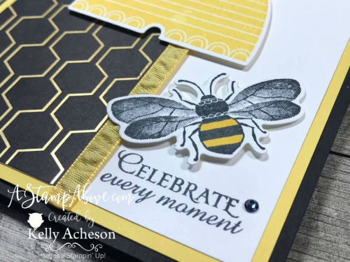 Honey Bee VIDEO TUTORIAL - Click for details - ️SHOP ️ - ORDER STAMPIN' UP! PRODUCTS ON-LINE. Purchase the $99 Starter Kit & enjoy a 20% discount! Tons of paper crafting ideas & FREE Online Classes. www.AStampAbove.com
