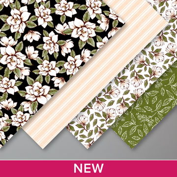 NEW BULK DESIGNER SERIES PAPER AVAILABLE - Magnolia Lane by Stampin' Up! Click for details - ️SHOP ️ - ORDER STAMPIN' UP! PRODUCTS ON-LINE. Purchase the $99 Starter Kit & enjoy a 20% discount! Tons of paper crafting ideas & FREE Online Classes. www.AStampAbove.com
