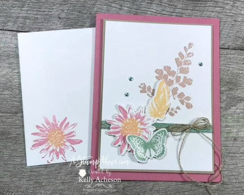 NEW COORDINATION PRODUCT RELEASE - VIDEO TUTORIAL - Click for details - ️SHOP ️ - ORDER STAMPIN' UP! PRODUCTS ON-LINE. Purchase the $99 Starter Kit & enjoy a 20% discount! Tons of paper crafting ideas & FREE Online Classes. www.AStampAbove.com