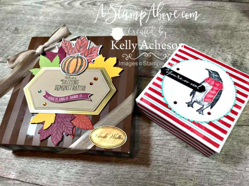 Come to Gather by Stampin' Up! Embellish boxes of candy for an amazing handmade gift from the heart! Details & VIDEO TUTORIAL - ️SHOP ️ - ORDER STAMPIN' UP! PRODUCTS ON-LINE. Purchase the $99 Starter Kit & enjoy a 20% discount! Tons of paper crafting ideas & FREE Online Classes. www.AStampAbove.com