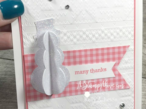 3D Snowman VIDEO TUTORIAL - Click for details - ️SHOP ️ - ORDER STAMPIN' UP! PRODUCTS ON-LINE. Purchase the $99 Starter Kit & enjoy a 20% discount! Tons of paper crafting ideas & FREE Online Classes. www.AStampAbove.com