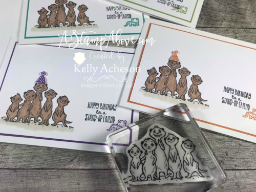 SNEAK PEEK - The Gang's All Meer VIDEO TUTORIAL - Click for details - ️SHOP ️ - ORDER STAMPIN' UP! PRODUCTS ON-LINE. Purchase the $99 Starter Kit & enjoy a 20% discount! Tons of paper crafting ideas & FREE Online Classes. www.AStampAbove.com
