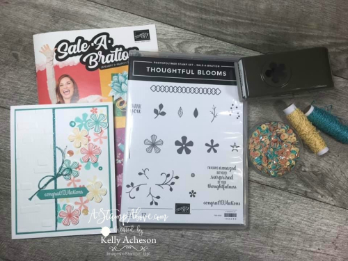 FREE Stamp Set & Punch - VIDEO TUTORIAL - Click for details - ️SHOP ️ - ORDER STAMPIN' UP! PRODUCTS ON-LINE. Purchase the $99 Starter Kit & enjoy a 20% discount! Tons of paper crafting ideas & FREE Online Classes. www.AStampAbove.com