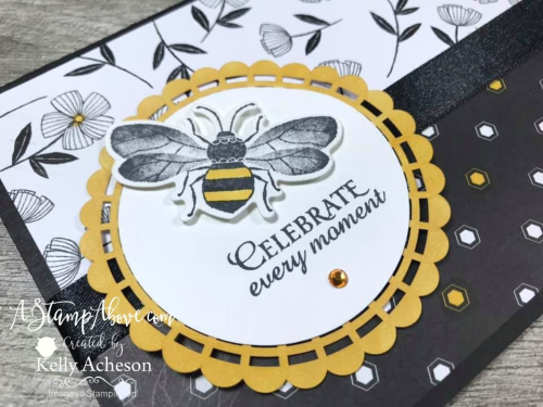 HONEY BEE BUNDLE by Stampin' Up! Facebook Live Replay - check out these super cute project - VIDEO TUTORIAL - Click for details - ️SHOP ️ - ORDER STAMPIN' UP! PRODUCTS ON-LINE. Purchase the $99 Starter Kit & enjoy a 20% discount! Tons of paper crafting ideas & FREE Online Classes. www.AStampAbove.com