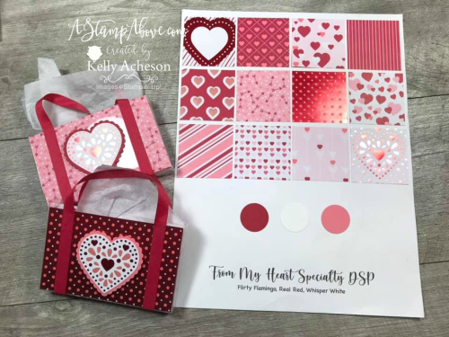 FROM MY HEART BUNDLE by Stampin' Up! Facebook Live Replay - check out these super cute project - VIDEO TUTORIAL - Click for details - ️SHOP ️ - ORDER STAMPIN' UP! PRODUCTS ON-LINE. Purchase the $99 Starter Kit & enjoy a 20% discount! Tons of paper crafting ideas & FREE Online Classes. www.AStampAbove.com
