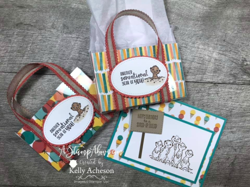 The Gang's All Meer FREE during Sale-a-Bration by Stampin' Up! Facebook Live Replay - check out these super cute project - VIDEO TUTORIAL - Click for details - ️SHOP ️ - ORDER STAMPIN' UP! PRODUCTS ON-LINE. Purchase the $99 Starter Kit & enjoy a 20% discount! Tons of paper crafting ideas & FREE Online Classes. www.AStampAbove.com