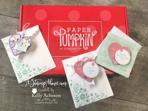 SUBSCRIBE TO PAPER PUMPKIN: Learn how to use the January Paper Pumpkin kit to make some alternate projects - VIDEO TUTORIAL - Click for details - ️SHOP ️ - ORDER STAMPIN' UP! PRODUCTS ON-LINE. Purchase the $99 Starter Kit & enjoy a 20% discount! Tons of paper crafting ideas & FREE Online Classes. www.AStampAbove.com