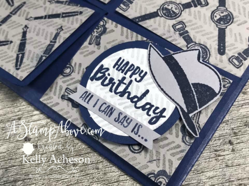 Learn how to make a Box Top card and get the Well Dressed stamp set for FREE! VIDEO TUTORIAL - Click for details - ️SHOP ️ - ORDER STAMPIN' UP! PRODUCTS ON-LINE. Purchase the $99 Starter Kit & enjoy a 20% discount! Tons of paper crafting ideas & FREE Online Classes. www.AStampAbove.com