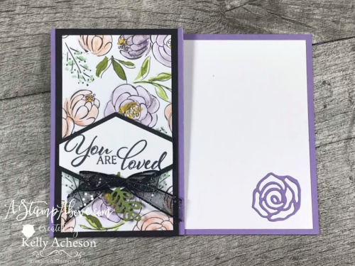 "6"" x 6"" One Sheet Wonder - Forever Lovely by Stampin' Up! VIDEO TUTORIAL - Click for details - ️SHOP ️ - ORDER STAMPIN' UP! PRODUCTS ON-LINE. Purchase the $99 Starter Kit & enjoy a 20% discount! Tons of paper crafting ideas & FREE Online Classes. www.AStampAbove.com"