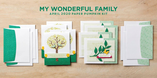 MY WONDERFUL FAMILY - Paper Pumpkin Kit - VIDEO TUTORIAL - Click for details - ️SHOP ️ - ORDER STAMPIN' UP! PRODUCTS ON-LINE. Purchase the $99 Starter Kit & enjoy a 20% discount! Tons of paper crafting ideas & FREE Online Classes. www.AStampAbove.com