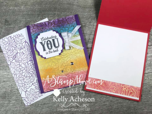 Make your own rainbow colored paper with this EMBOSS RESIST TECHNIQUE - VIDEO TUTORIAL - Click for details - ️SHOP ️ - ORDER STAMPIN' UP! PRODUCTS ON-LINE. Purchase the $99 Starter Kit & enjoy a 20% discount! Tons of paper crafting ideas & FREE Online Classes. www.AStampAbove.com