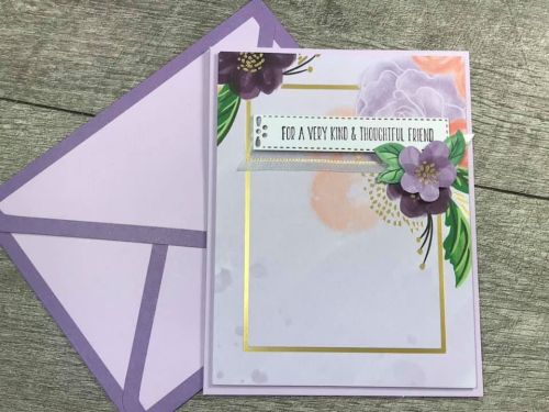 See all the details for the GORGEOUS POSIES CARD KIT by Stampin' Up! VIDEO TUTORIAL - Click for details - ️SHOP ️ - ORDER STAMPIN' UP! PRODUCTS ON-LINE. Purchase the $99 Starter Kit & enjoy a 20% discount! Tons of paper crafting ideas & FREE Online Classes. www.AStampAbove.com