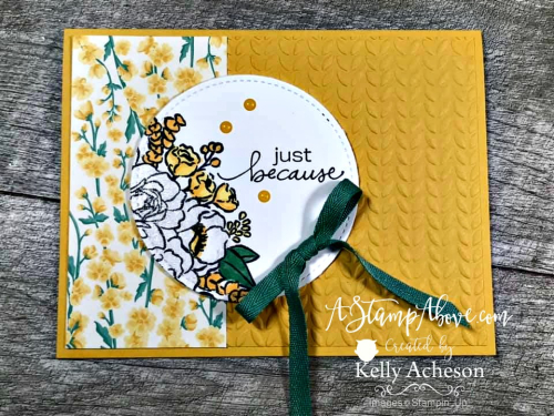 JAR OF FLOWERS by Stampin' Up! VIDEO TUTORIAL - Click for details - ️SHOP ️ - ORDER STAMPIN' UP! PRODUCTS ON-LINE. Purchase the $99 Starter Kit & enjoy a 20% discount! Tons of paper crafting ideas & FREE Online Classes. www.AStampAbove.com