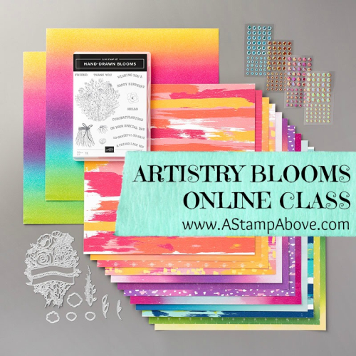 ARTISTRY BLOOMS OC COVER