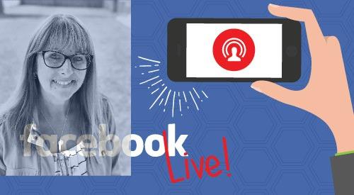 Facebook live logo kelly