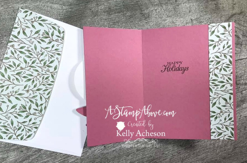 Get a FREE exclusive video tutorial for POINSETTIA PLACE SUITE by Stampin' Up! VIDEO TUTORIAL - Click for details - ️SHOP ️ - ORDER STAMPIN' UP! PRODUCTS ON-LINE. Purchase the $99 Starter Kit & enjoy a 20% discount! Tons of paper crafting ideas & FREE Online Classes. www.AStampAbove.com