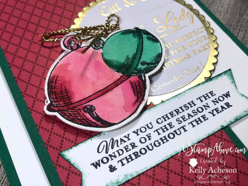 The WONDER OF THE SEASON SUITE by Stampin' Up! - check out the beautiful cards I made with it! VIDEO TUTORIAL - Click for details - ️SHOP ️ - ORDER STAMPIN' UP! PRODUCTS ON-LINE. Purchase the $99 Starter Kit & enjoy a 20% discount! Tons of paper crafting ideas & FREE Online Classes. www.AStampAbove.com