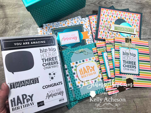 Get this amazing card kit!!! Video tutorial available. www.AStampAbove.com