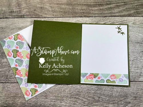 Learn all about the FLOWERING CACTUS MEDLEY by Stampin' Up! Click for Video tutorial. www.AStampAbove.com
