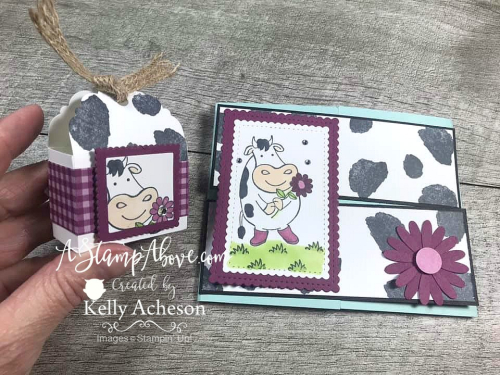 OVER THE MOON by Stampin' Up! Learn how easy this little treat holder is to make - VIDEO TUTORIAL - Click for details - ️SHOP ️ - ORDER STAMPIN' UP! PRODUCTS ON-LINE. Purchase the $99 Starter Kit & enjoy a 20% discount! Tons of paper crafting ideas & FREE Online Classes. www.AStampAbove.com