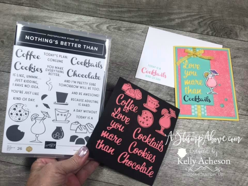 NEW Kit Class with Nothing's Better Than from Stampin' Up! - VIDEO TUTORIAL - Click for details - ️SHOP ️ - ORDER STAMPIN' UP! PRODUCTS ON-LINE. Purchase the $99 Starter Kit & enjoy a 20% discount! Tons of paper crafting ideas & FREE Online Classes. www.AStampAbove.com