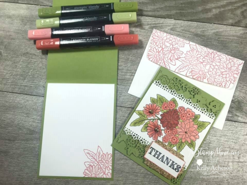 Ornate Garden Suite by Stampin' Up! VIDEO TUTORIAL - Click for details - ️SHOP ️ - ORDER STAMPIN' UP! PRODUCTS ON-LINE. Purchase the $99 Starter Kit & enjoy a 20% discount! Tons of paper crafting ideas & FREE Online Classes. www.AStampAbove.com