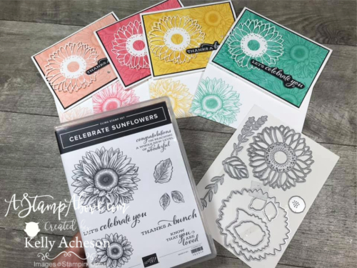 Celebrate Sunflowers VIDEO TUTORIAL - Click for details - ️SHOP ️ - ORDER STAMPIN' UP! PRODUCTS ON-LINE. Purchase the $99 Starter Kit & enjoy a 20% discount! Tons of paper crafting ideas & FREE Online Classes. www.AStampAbove.com