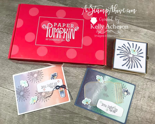 Paper Pumpkin Alternate Ideas (SUMMER NIGHTS) VIDEO TUTORIAL - Click for details - ️SHOP ️ - ORDER STAMPIN' UP! PRODUCTS ON-LINE. Purchase the $99 Starter Kit & enjoy a 20% discount! Tons of paper crafting ideas & FREE Online Classes. www.AStampAbove.com