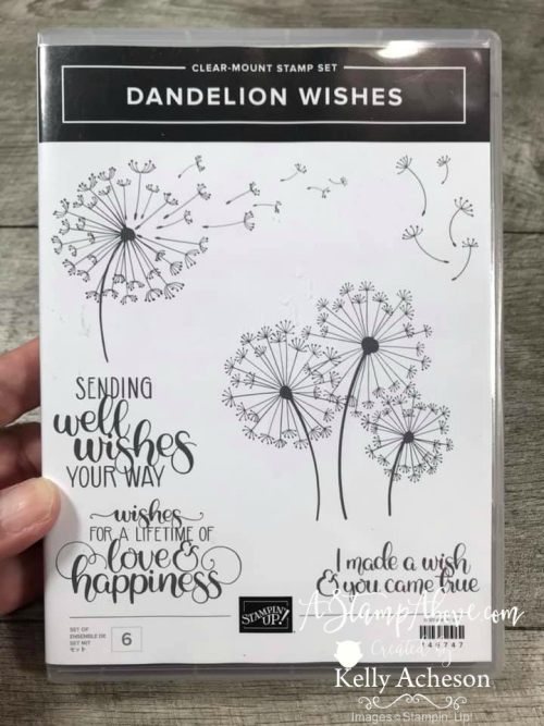 Dandelion VIDEO TUTORIAL - Click for details - ️SHOP ️ - ORDER STAMPIN' UP! PRODUCTS ON-LINE. Purchase the $99 Starter Kit & enjoy a 20% discount! Tons of paper crafting ideas & FREE Online Classes. www.AStampAbove.com