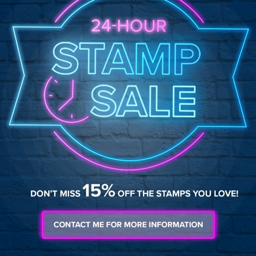 15% OFF the stamps you LOVE! Click for details - ️SHOP ️ - ORDER STAMPIN' UP! PRODUCTS ON-LINE. Purchase the $99 Starter Kit & enjoy a 20% discount! Tons of paper crafting ideas & FREE Online Classes. www.AStampAbove.com