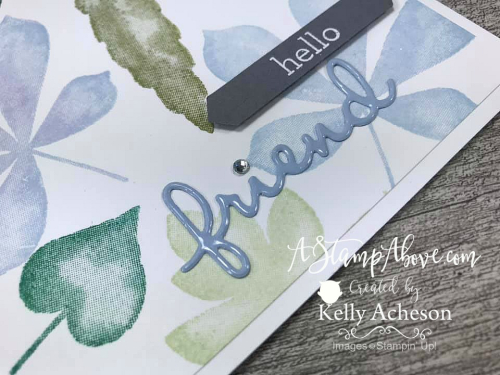 Faux Embossing Technique (Love of Leaves Bundle) with Packing Tape - it's amazing! VIDEO TUTORIAL - Click for details - ️SHOP ️ - ORDER STAMPIN' UP! PRODUCTS ON-LINE. Purchase the $99 Starter Kit & enjoy a 20% discount! Tons of paper crafting ideas & FREE Online Classes. www.AStampAbove.com
